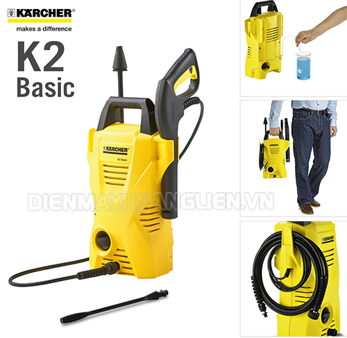 Giá bán máy rửa xe Karcher