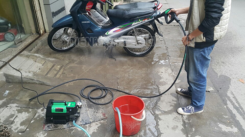 Mua máy rửa xe cũ