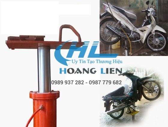 Trụ nâng rửa xe gắn máy