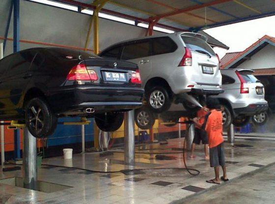 địa chỉ bán cầu nâng 1 trụ rửa xe uy tín