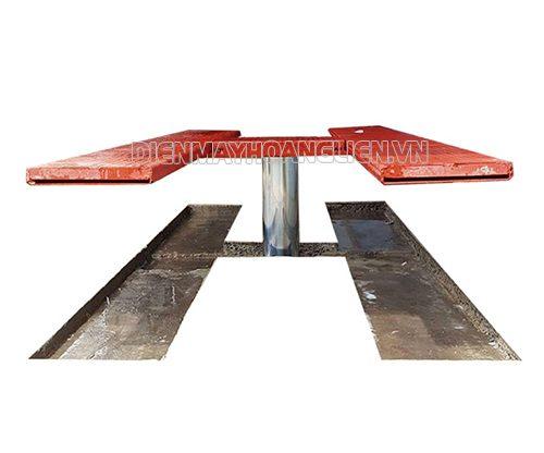 Cầu nâng rửa xe ô tô 1 trụ bàn âm