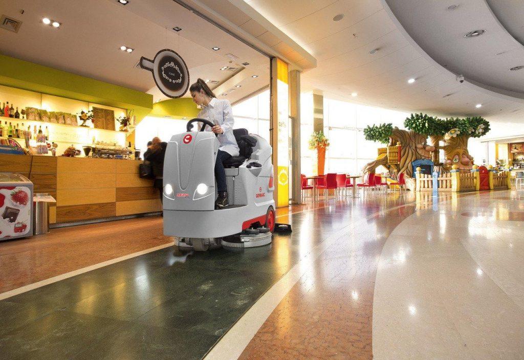 máy lau sàn nhà thiết bị vệ sinh hiện đại
