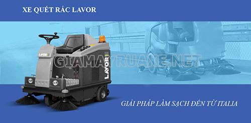 Thương hiệu máy quét rác Lavor được nhiều nhà xưởng tin dùng