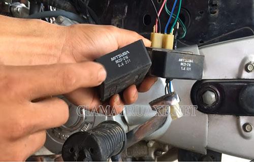 Xe máy bị ì co thể do IC trong xe bị hỏng
