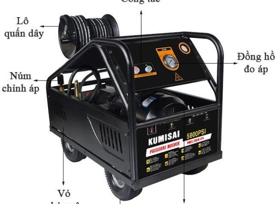 máy rửa xe Kumisai 22M58-11T4