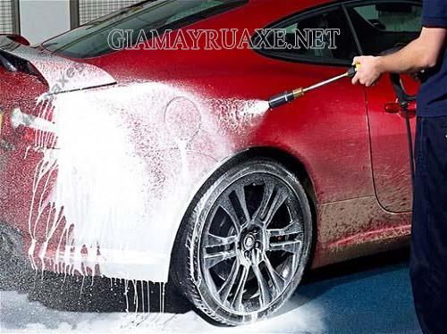 Phương pháp rửa xe bọt tuyết