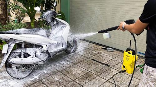 hướng dẫn sử dụng máy rửa xe