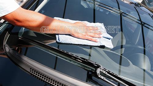 Công nghệ rửa xe không cần nước