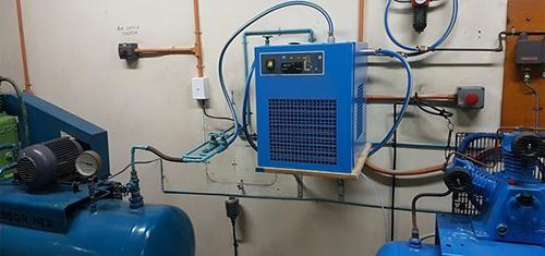 nguyên lý máy sấy khí nén