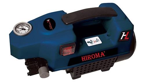 Máy rửa xe Hiroma được thiết kế nguyên khối, bền đẹp