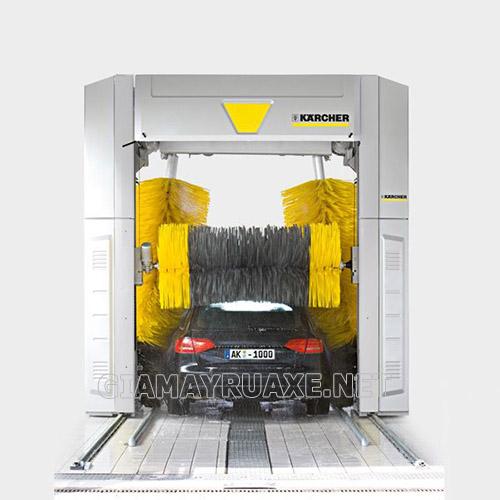 hệ thống máy rửa xe tự động hiện có giá thành lắp đặt khá lớn