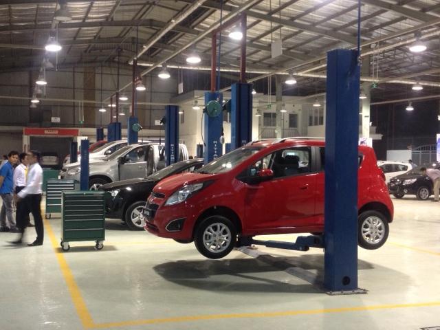 Model cầu nâng ô tô 2 trụ Ritian QJY 3.2-2C