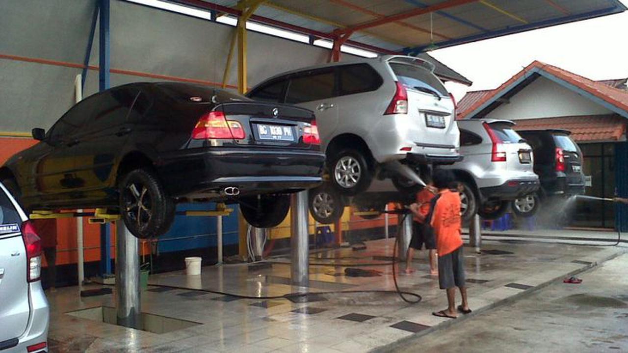 Địa chỉ bán cầu nâng 1 trụ rửa xe ô tô uy tín chất lượng