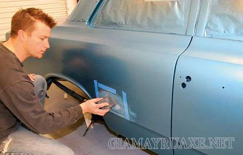 Cách xử lý xe bị xước sơn