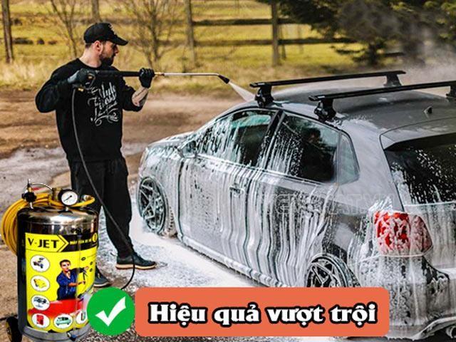 bình rửa xe bọt tuyết gia rẻ