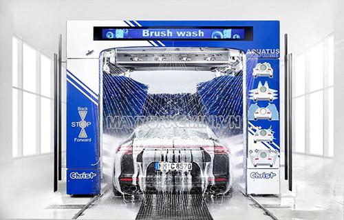 Giá máy rửa xe ô tô tự động cao nhưng nhiều người vẫn mạnh tay đầu tư?