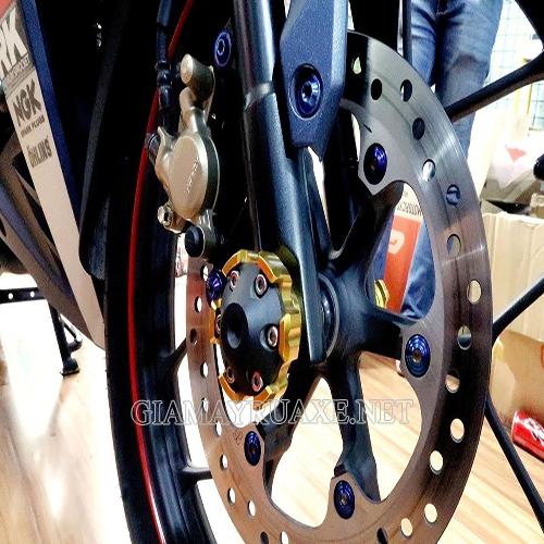 Cách xử lý thắng đĩa xe máy bị bênh