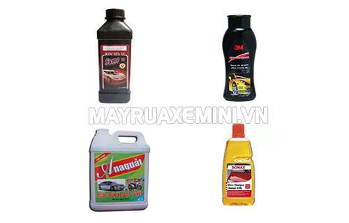 Một số loại hóa chất rửa xe chuyên dụng giúp làm sạch nhanh và bảo vệ xe tốt hơn
