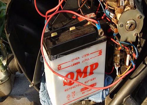 Nguyên nhân xe máy bị mất điện