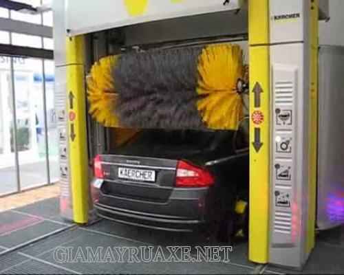 công nghệ rửa xe ô tô tự động
