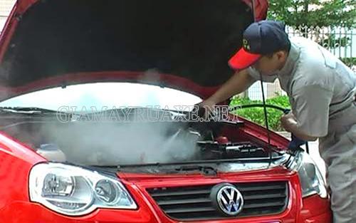 Máy rửa xe công nghệ cao