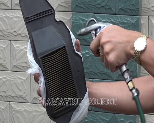 Cách vệ sinh xe máy cũ tại nhà