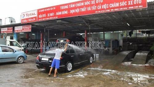 mô hình rửa xe chuyên nghiệp