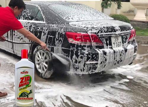 Nước rửa xe zip wax