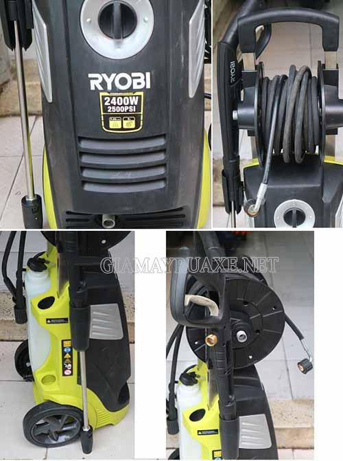 Thông số kỹ thuật Máy rửa xe Ryobi-2400W