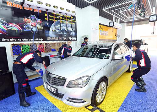 rửa xe có cần giấy phép kinh doanh