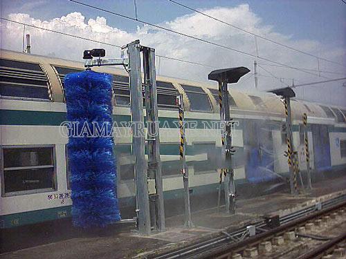 Rửa xe lửa – Công nghệ rửa xe mới nhất của Nhật Bản