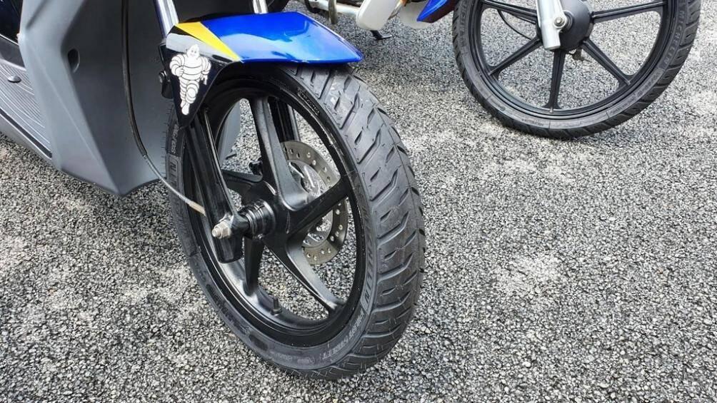 hiện tượng lốp xe máy bị phồng