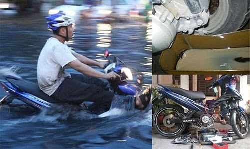 Các bệnh thường gặp ở xe máy