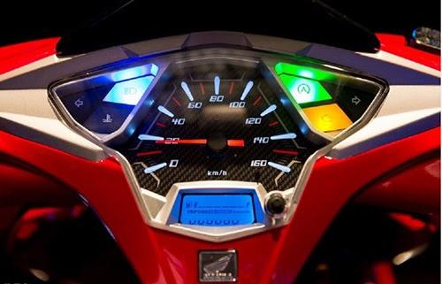 Các đèn báo trên xe airblade