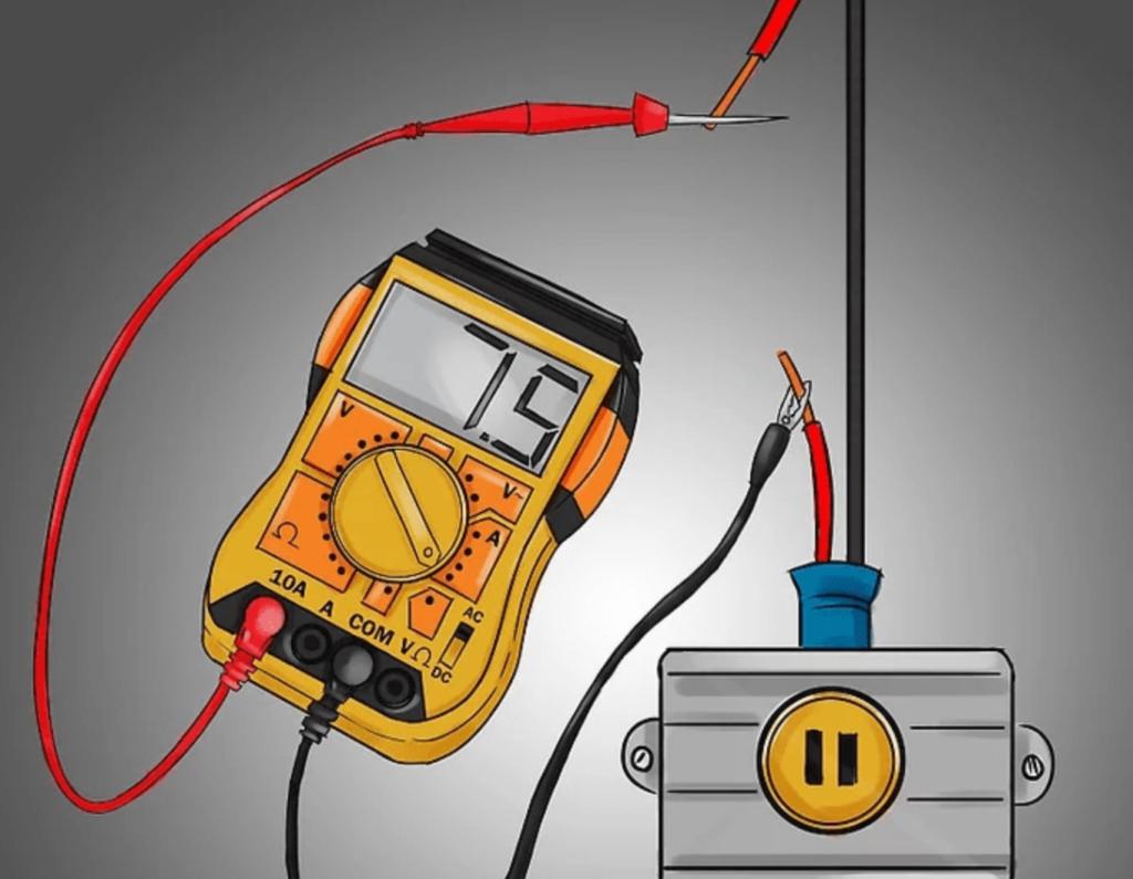 cách đo cường độ dòng điện