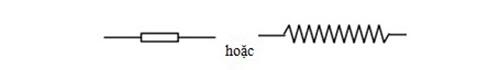 Ký hiệu điện trở của dây dẫn