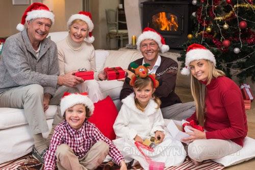 Lời chúc giáng sinh bằng tiếng anh đơn giản cho trẻ em