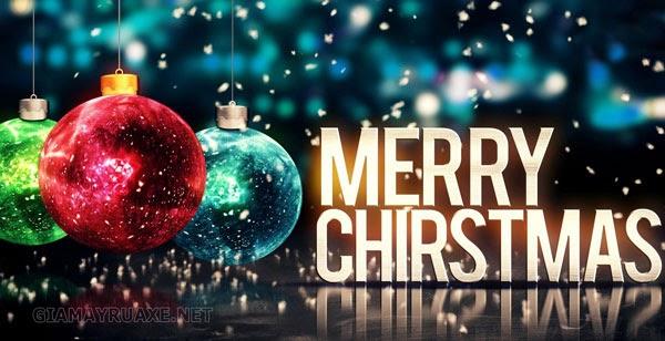 Lời chúc giáng sinh bằng tiếng anh đơn giản