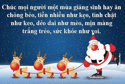Lời chúc lễ Noel và năm mới