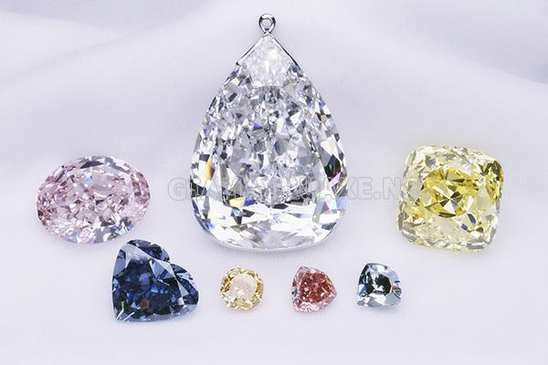 Màu sắc kim cương