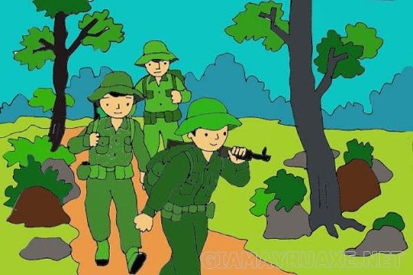 lời chúc tết trong quân đội