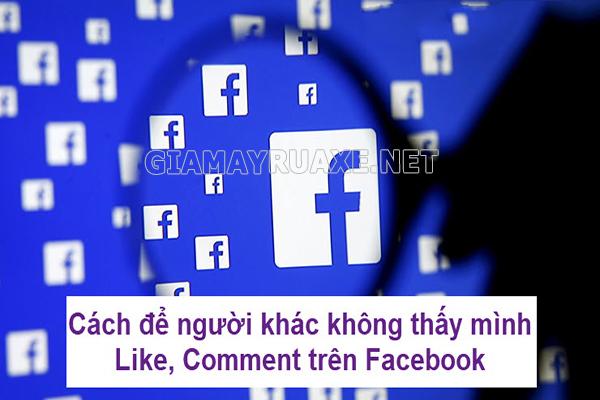 Cách ẩn bình luận của mình trên facebook