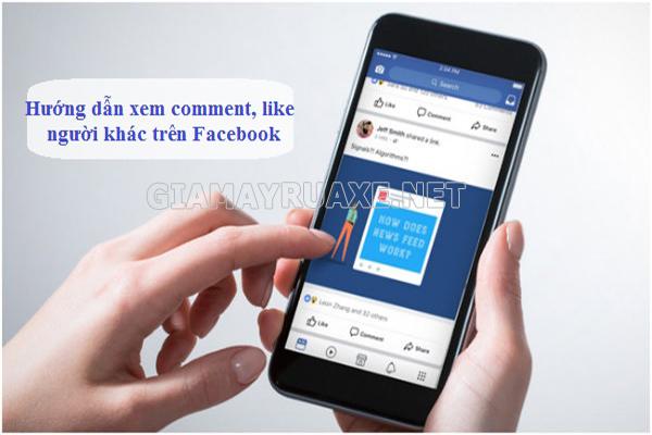 cách tìm comment trên facebook