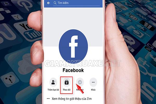 Cách làm hiển thị số người theo dõi Facebook trên điện thoại Android
