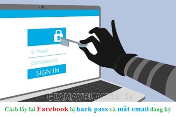 cách lấy lại mật khẩu Facebook không cần Email hay số điện thoại