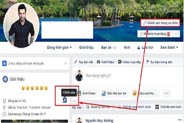 Hướng dẫn cách làm hiển thị số người theo dõi trên Facebook bằng máy tính