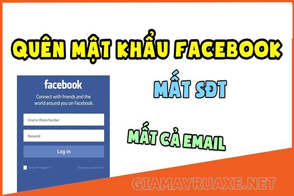 lấy lại mật khẩu facebook khi mất số điện thoại và email