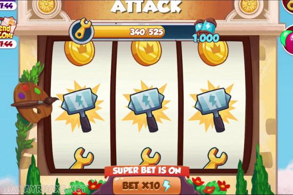 Cách chạy spin coin master free
