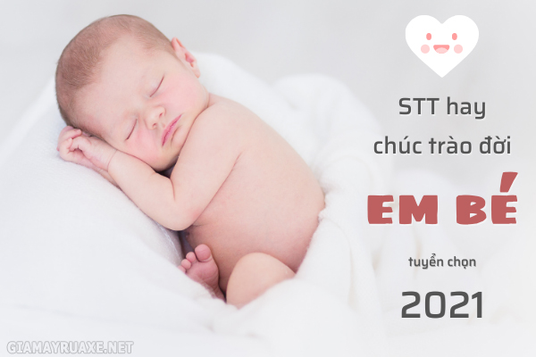 status hay về em bé
