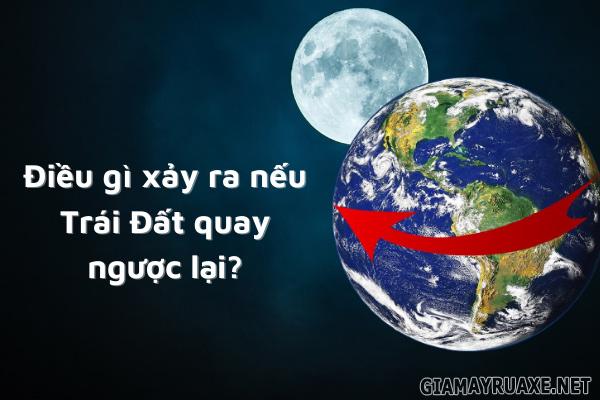 Trái Đất quay theo chiều nào